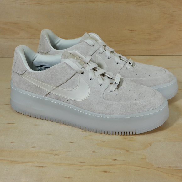 Nike Air Force 1 Sage Low LX Phantom White NEW NWT